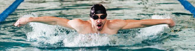 nadador requieren equipamiento